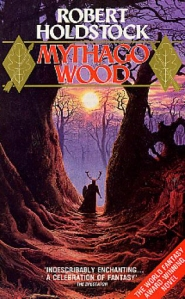 Mythago Wood, cover by Geoff Taylor