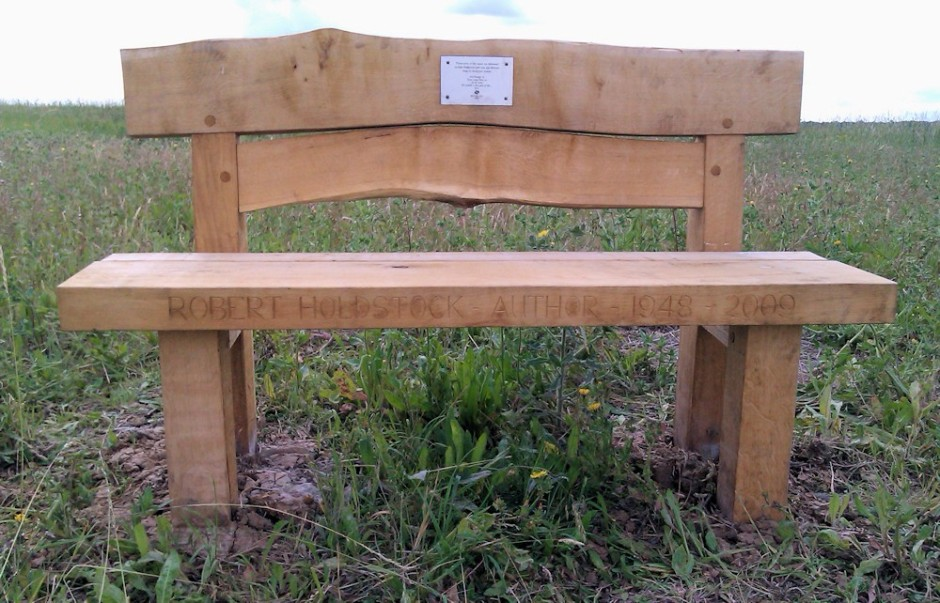 The bench in Victory Wood